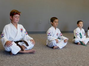 Overland Park Karate Kids Meditation
